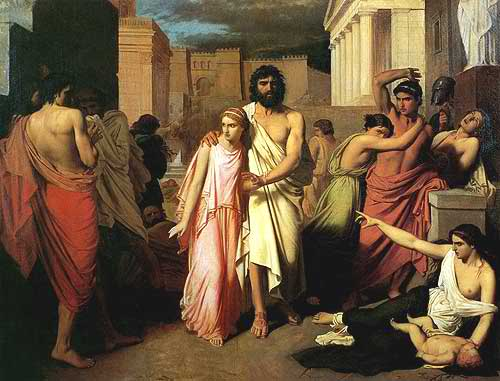 Antigona-vodi-Edipa-iz-Tebe